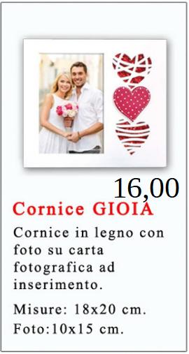 Cornice Gioia