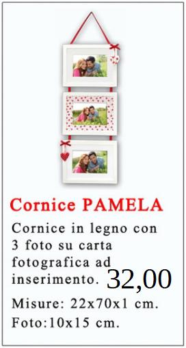 Cornice PAMELA