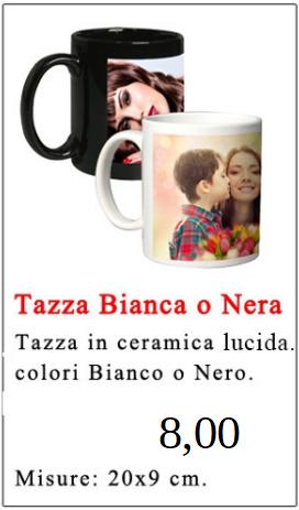 Tazza Bianca o Nera