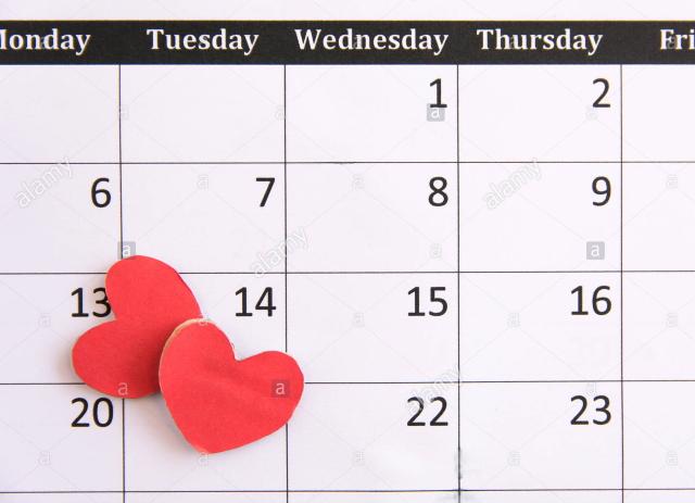 I giorni del tuo Amore nei Calendari San Valentino 2021